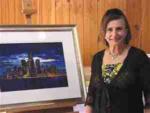 Photo of Agnes Parcesepe who tells us about Painting in Retirement.