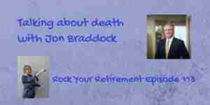Jon Braddock talks about death